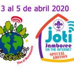 3 al 5 de abril 2020: Jamboree en Internet, edición especial